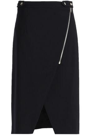 VANESSA BRUNO Wool-blend twill skirt