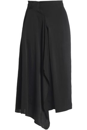 VANESSA BRUNO Draped crepe skirt