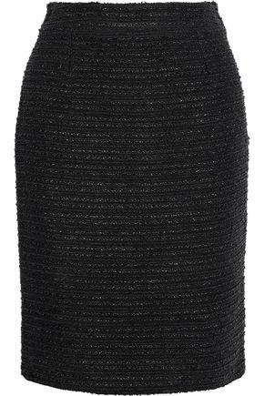 CAROLINA HERRERA Cotton-blend bouclé pencil skirt
