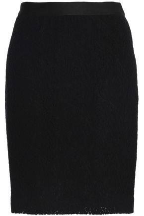 VANESSA BRUNO ATHE' Wool and cotton-blend skirt