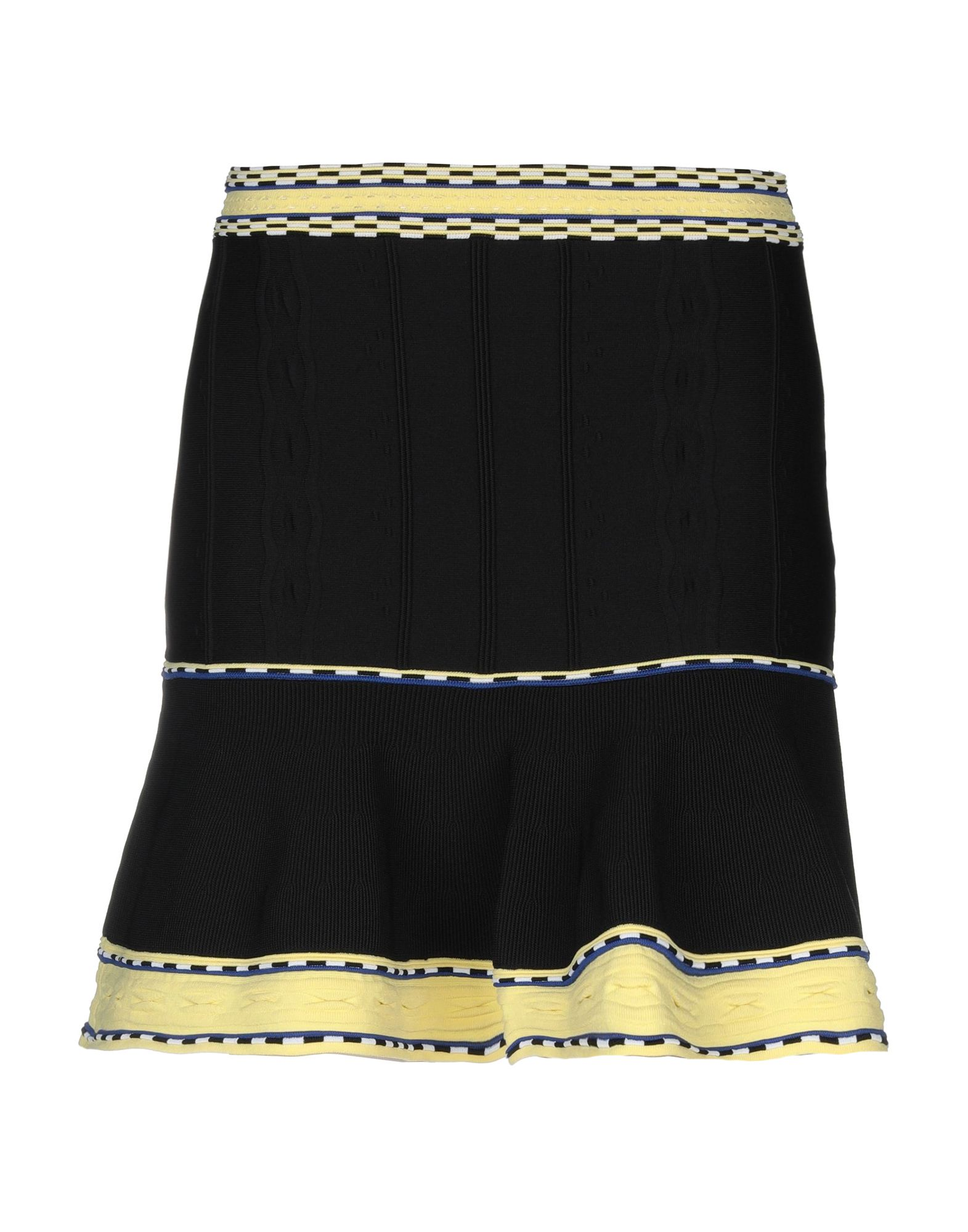 SANDRO Мини-юбка sandro джинсовая юбка с декоративной шнуровкой page 3