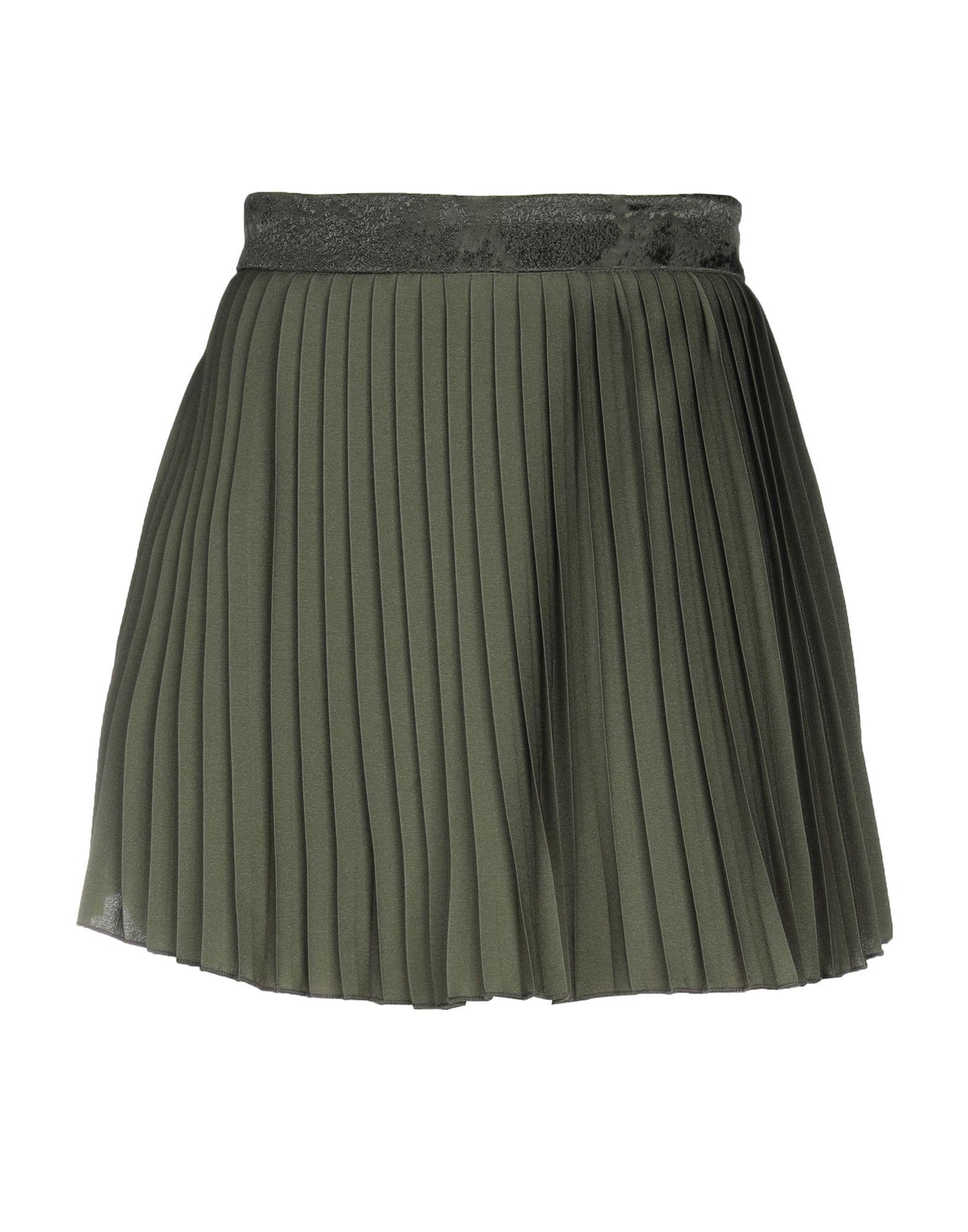 !M?ERFECT Мини-юбка юбка брюки плиссе