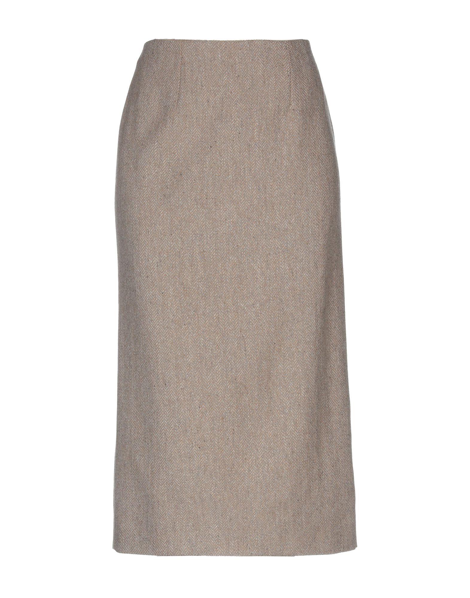 VALENTINO Юбка длиной 3/4 valentino юбка карандаш с кружевом
