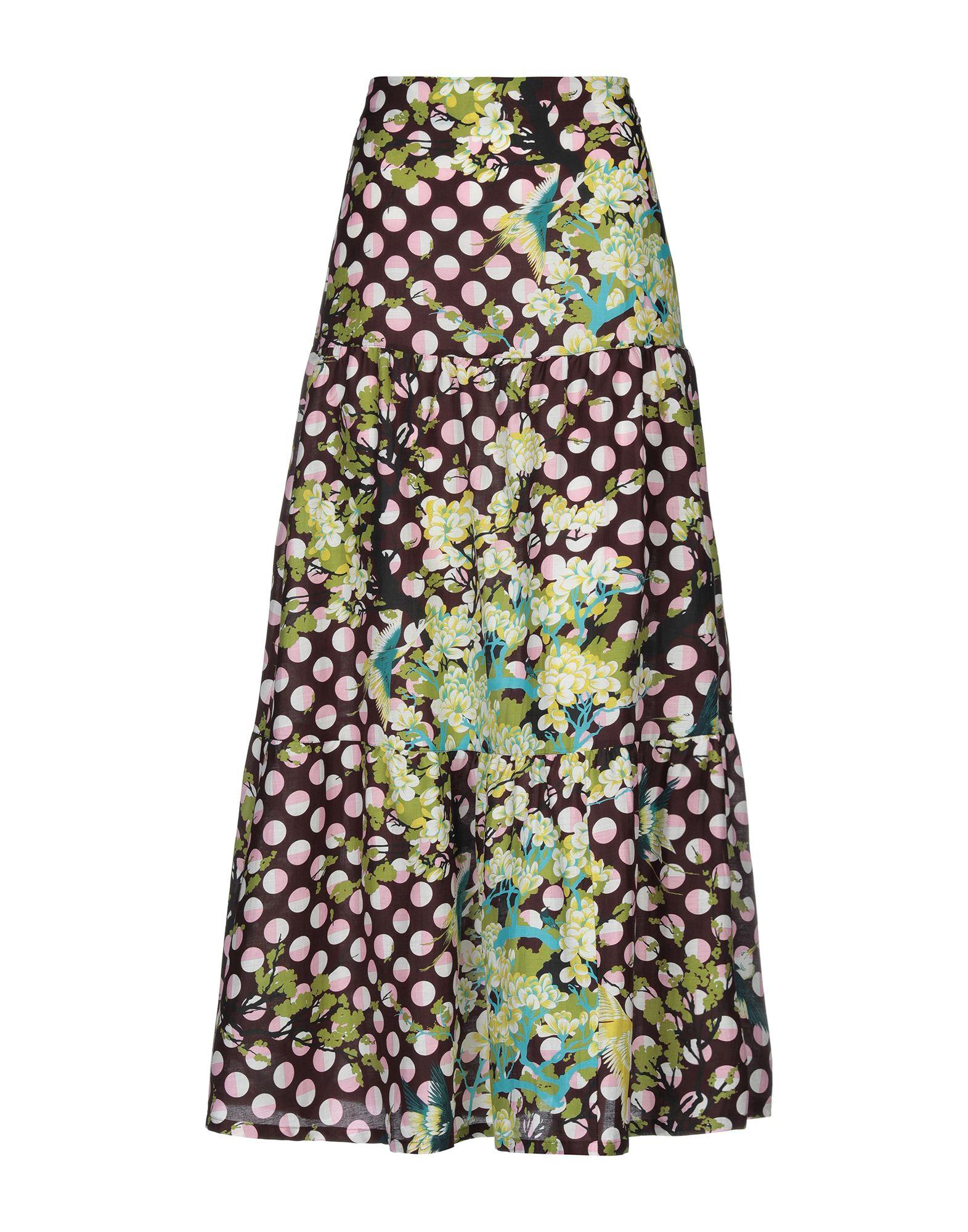 LAURA URBINATI Длинная юбка недорго, оригинальная цена