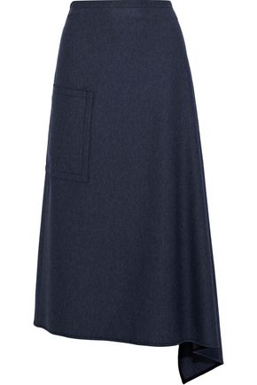 Twill Midi Skirt by Tibi