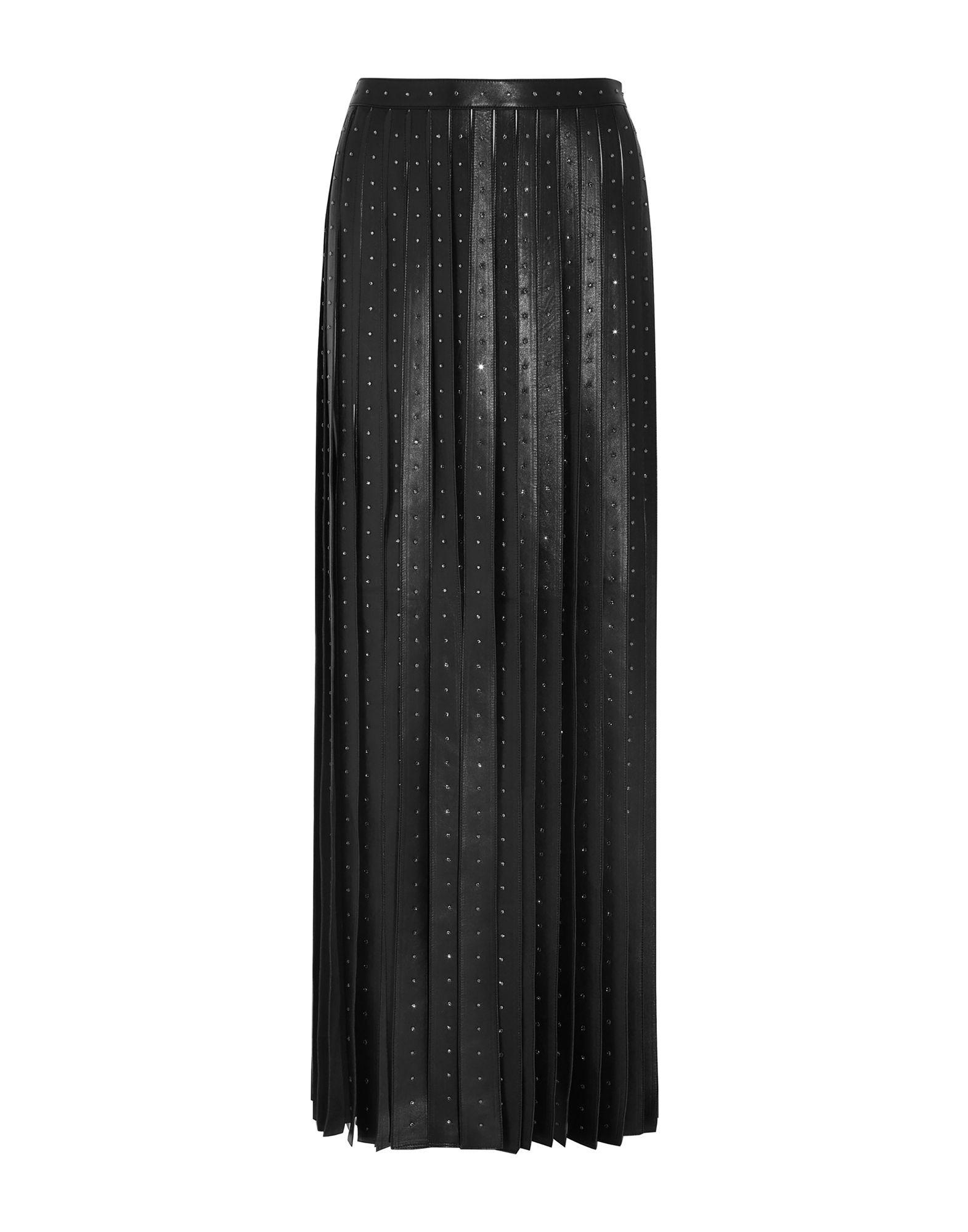 VALENTINO Длинная юбка valentino юбка с цветочной аппликацией