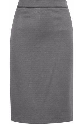 GIORGIO ARMANI Metallic woven pencil skirt