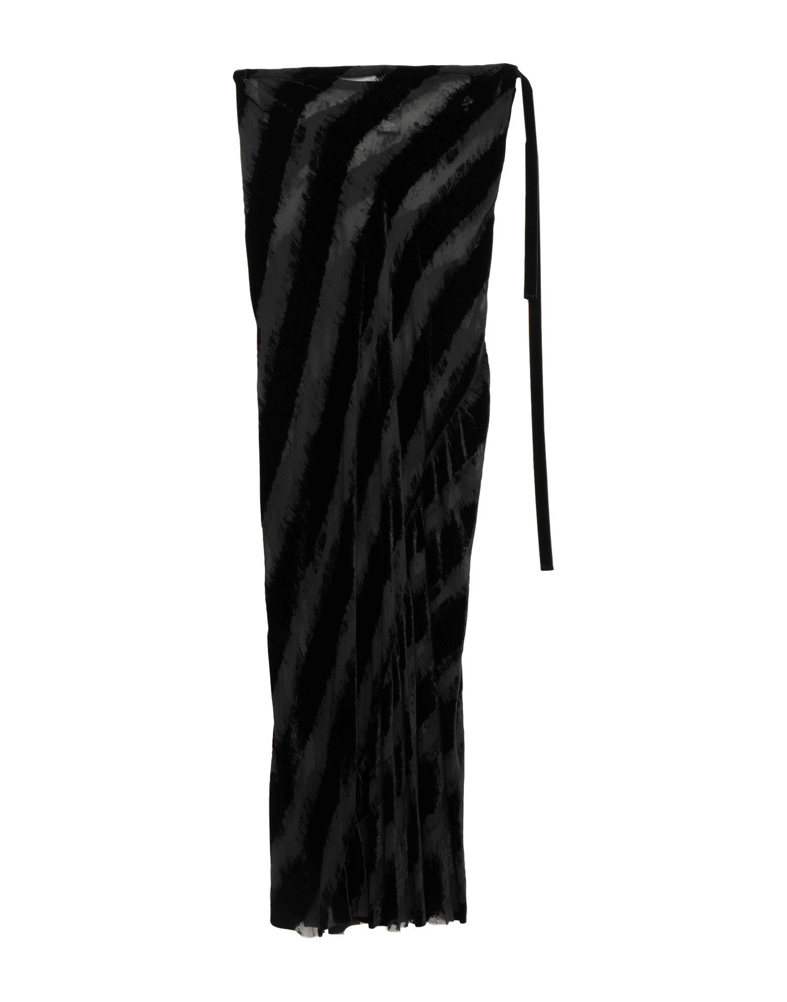 ANN DEMEULEMEESTER Длинная юбка ann demeulemeester мини юбка