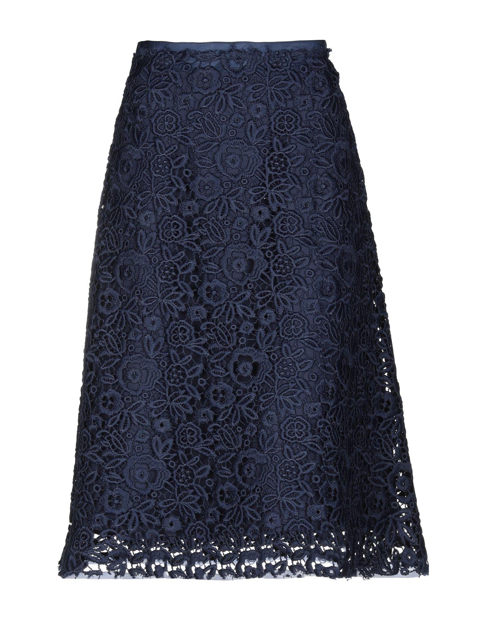 MIU MIU Юбка длиной 3/4 miu miu платье длиной 3 4