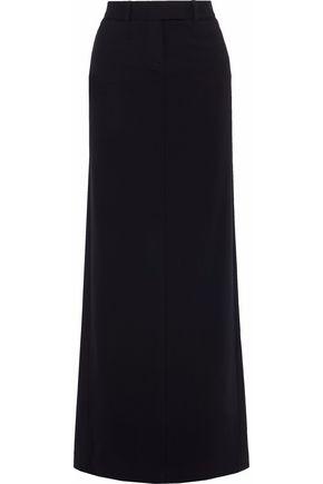 ROBERTO CAVALLI Stretch-wool maxi skirt