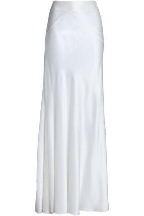 ALBERTA FERRETTI Silk-satin maxi skirt