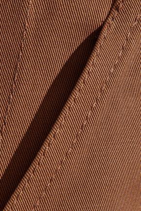 DIANE VON FURSTENBERG Stretch-cotton twill pencil skirt