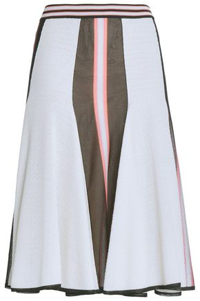 MISSONI Fluted jacquard-knit skirt