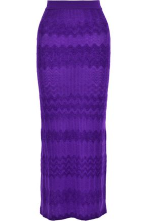 MISSONI Jacquard-knit maxi skirt