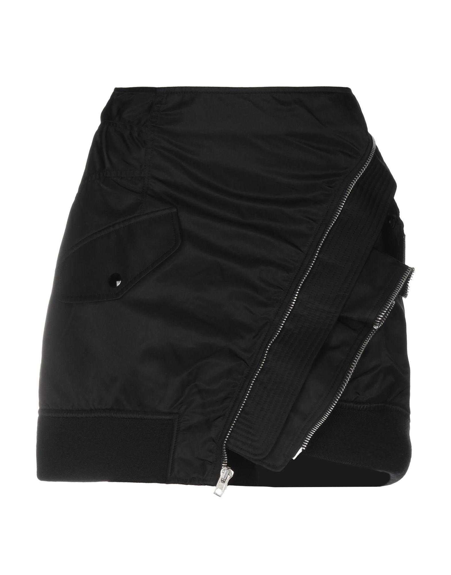 ALEXANDER WANG Мини-юбка alexander wang черная хлопковая юбка
