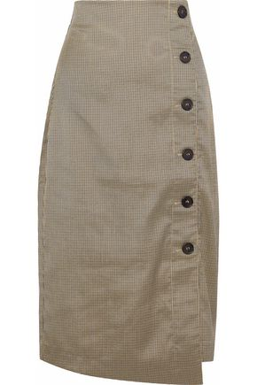 W118 by WALTER BAKER Harold houndstooth twill skirt