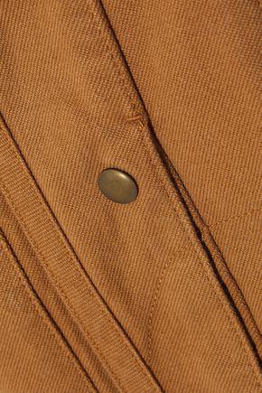 CHLOÉ Button-detailed denim midi skirt