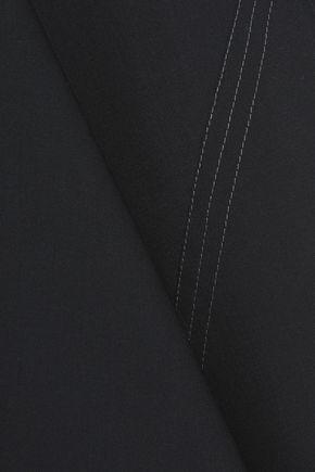 ELLERY Minimalism asymmetric cady mini skirt