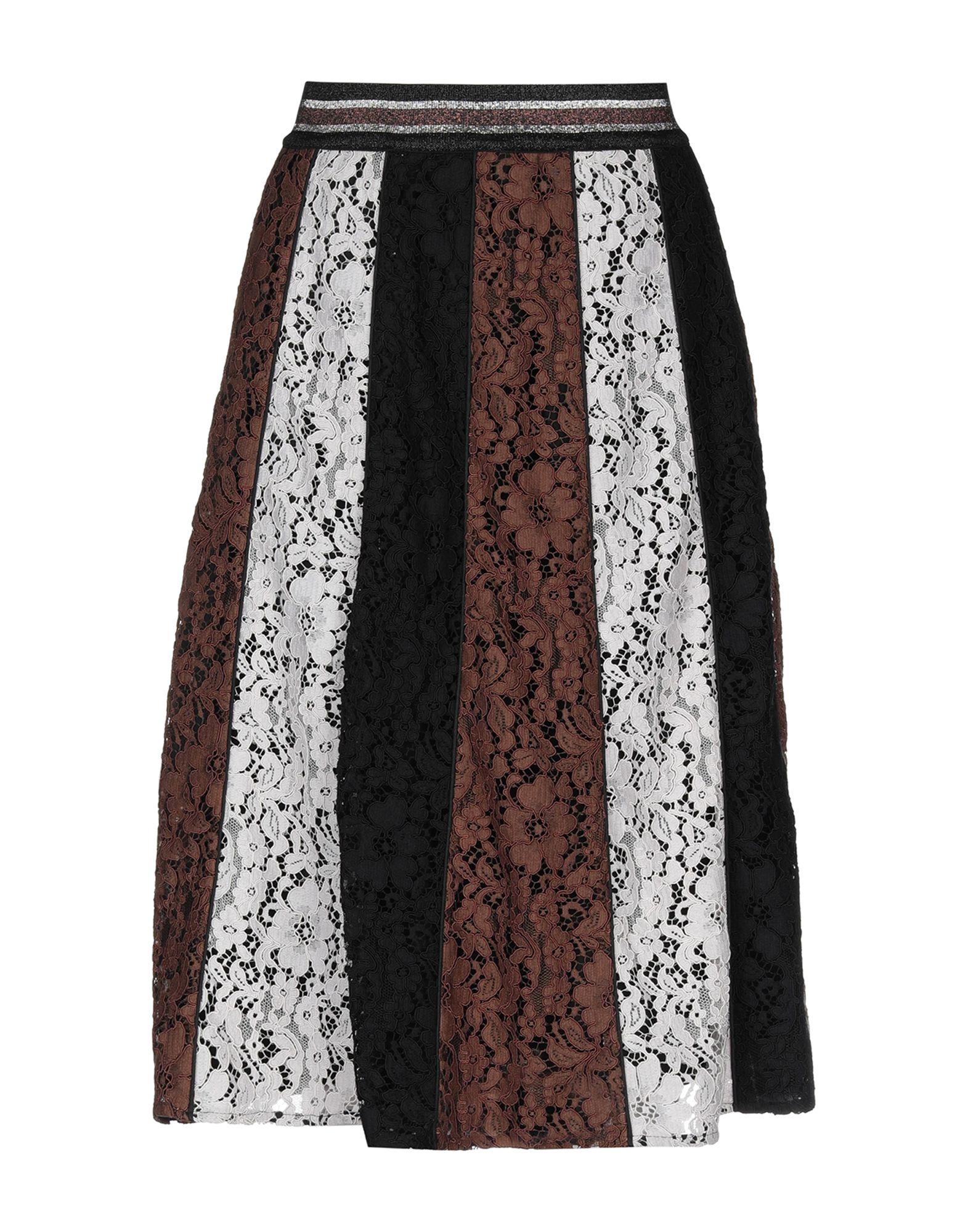 SHIRTAPORTER Юбка длиной 3/4 shirtaporter платье длиной 3 4