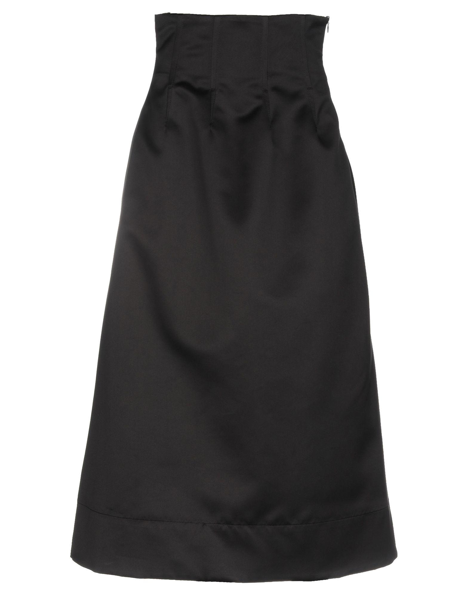 《期間限定 セール開催中》GARAGE NOUVEAU レディース ロングスカート ブラック 1 ポリエステル 100%