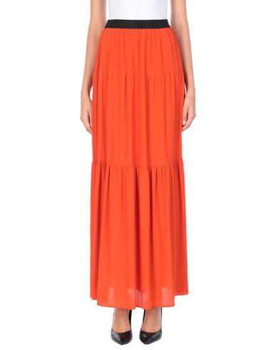 Купить Длинная юбка от BLUE LES COPAINS ржаво-коричневого цвета