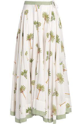 ANTIK BATIK Printed cotton maxi skirt
