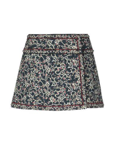 Купить Мини-юбка от ISABEL MARANT ÉTOILE темно-синего цвета