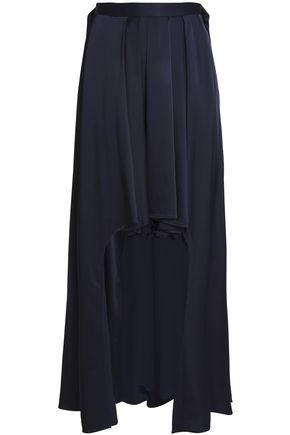 CHALAYAN Satin-crepe mini skirt
