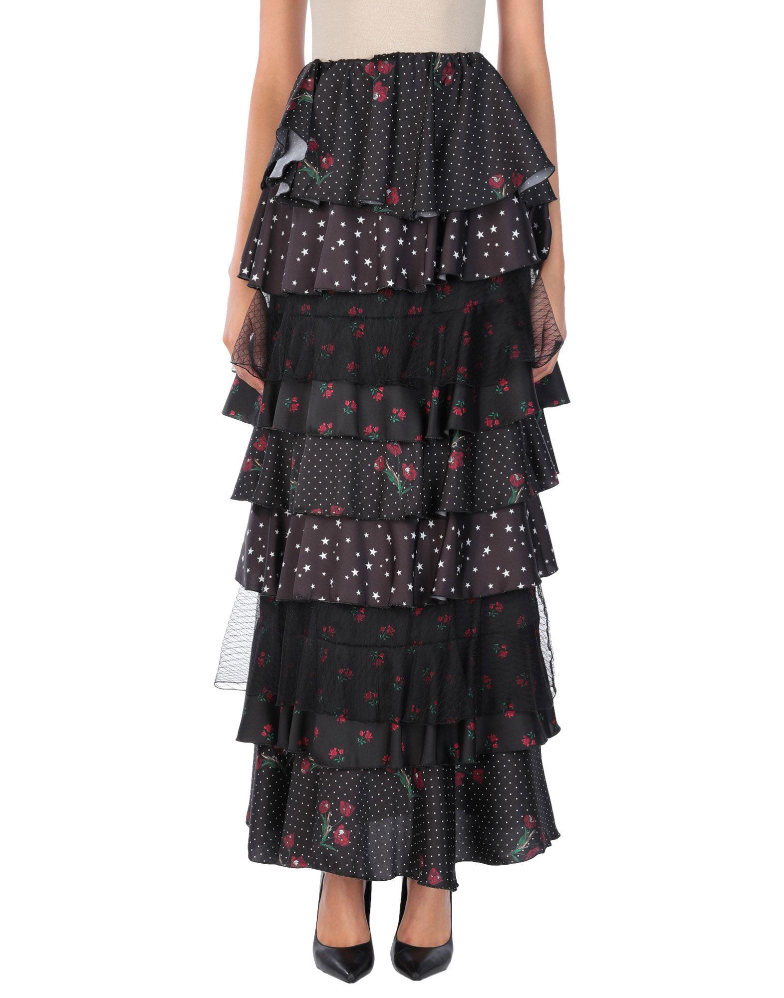 SOALLURE Длинная юбка osman длинная юбка