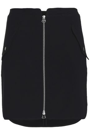 RAG & BONE Satin-crepe mini skirt