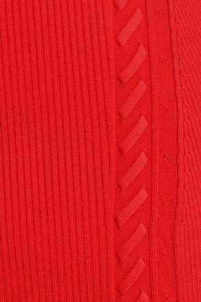 RAG & BONE Brandy ribbed-knit pencil skirt
