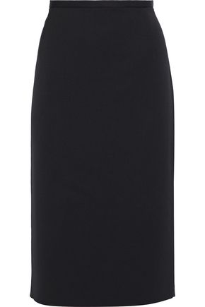MICHAEL KORS COLLECTION Stretch-wool twill pencil skirt