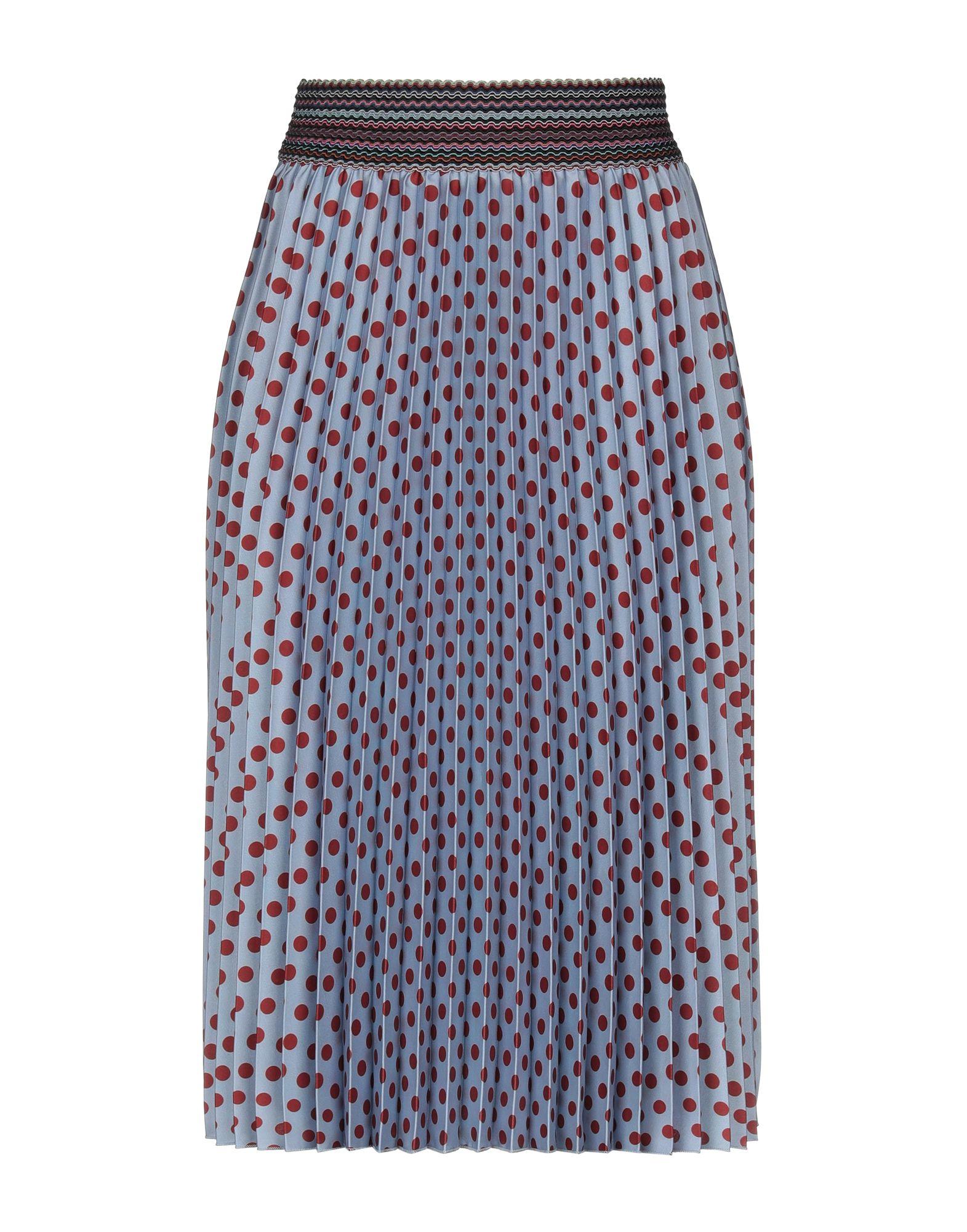 《送料無料》JE SUIS CHAPEAU レディース 7分丈スカート ブルーグレー S コットン 100%