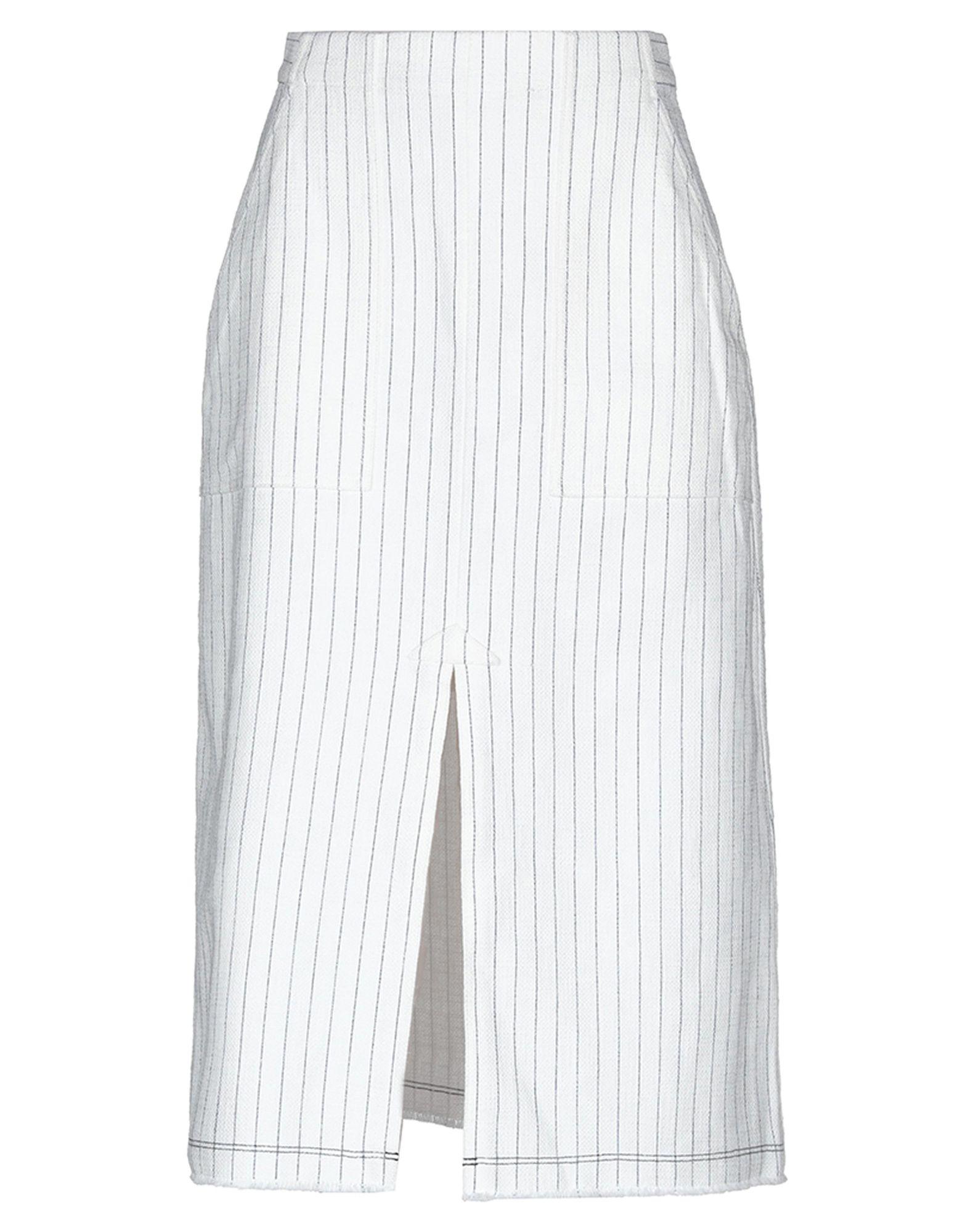 T by ALEXANDER WANG Юбка длиной 3/4 alexander wang черная хлопковая юбка