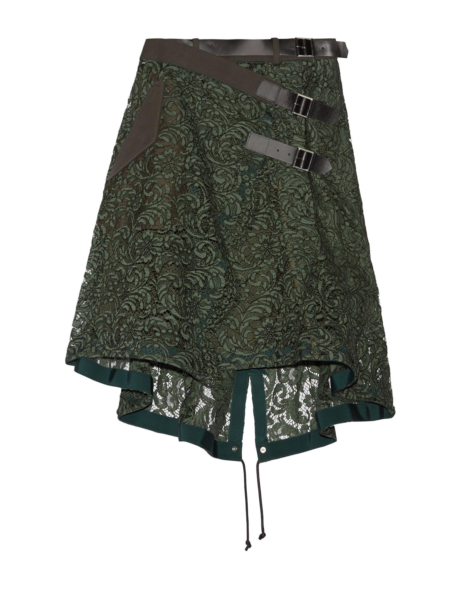 SACAI Юбка длиной 3/4 sacai luck юбка длиной 3 4