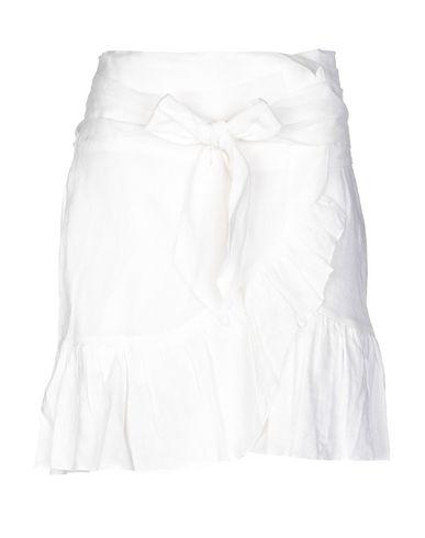 Купить Юбку до колена от ISABEL MARANT ÉTOILE белого цвета