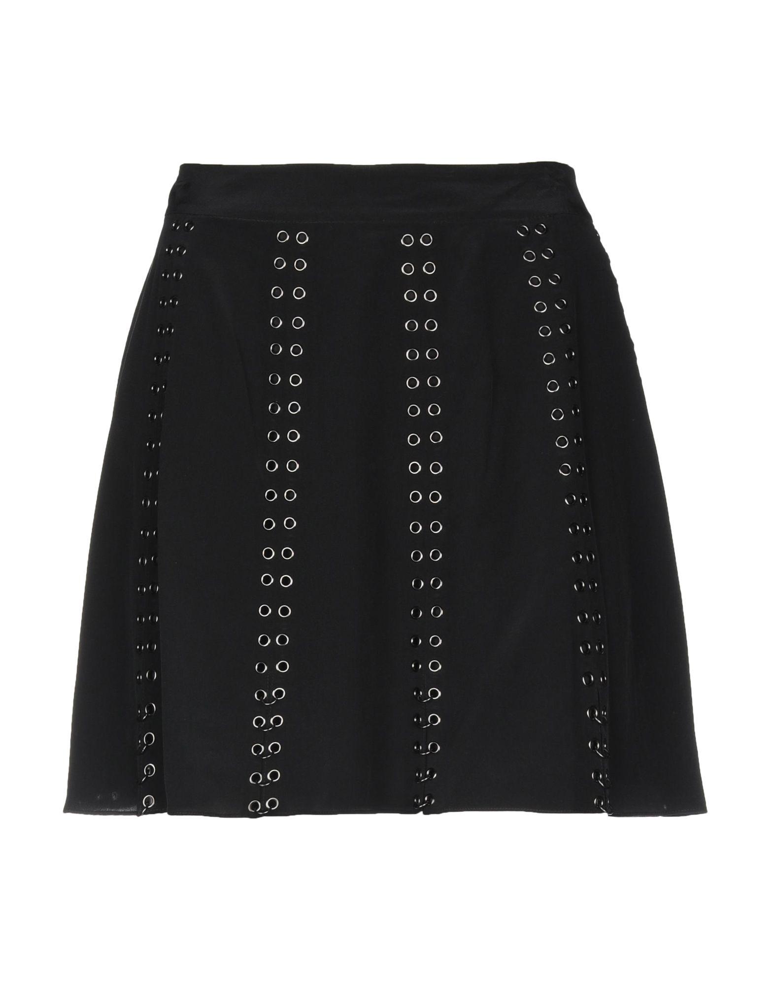 HAUTE HIPPIE Мини-юбка haute мини юбка