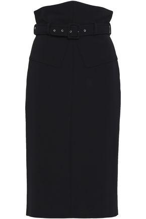 ANTONIO BERARDI Belted woven pencil skirt