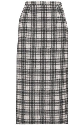 ANTONIO BERARDI Jacquard midi pencil skirt