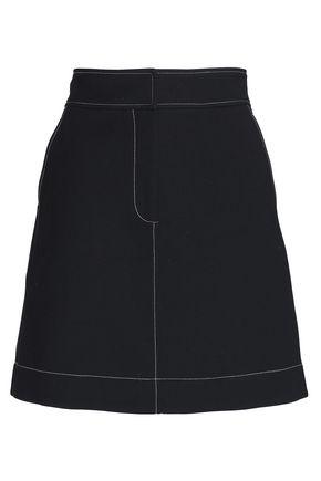 DIANE VON FURSTENBERG Crepe mini skirt