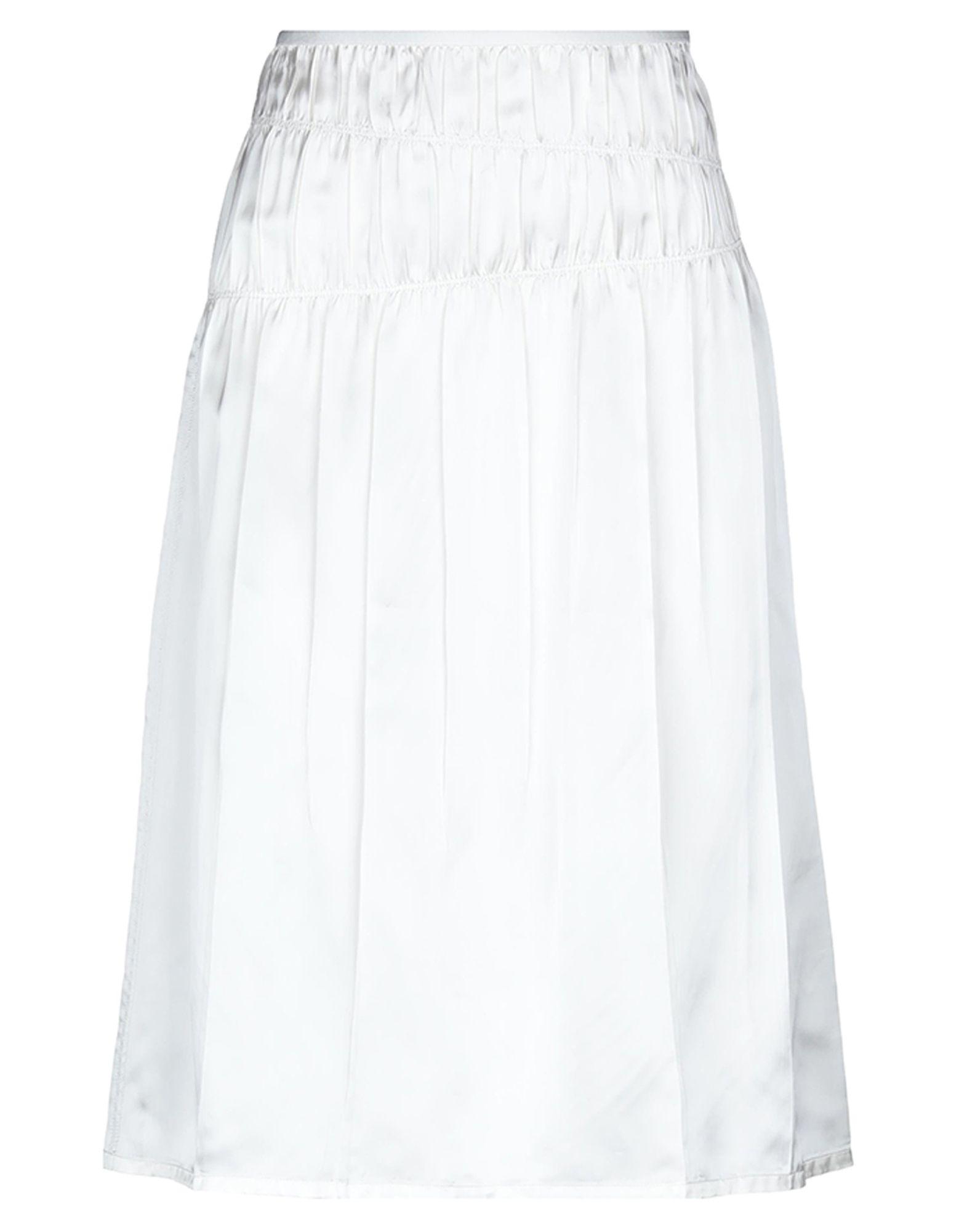 HELMUT LANG Юбка длиной 3/4 helmut lang платье длиной 3 4