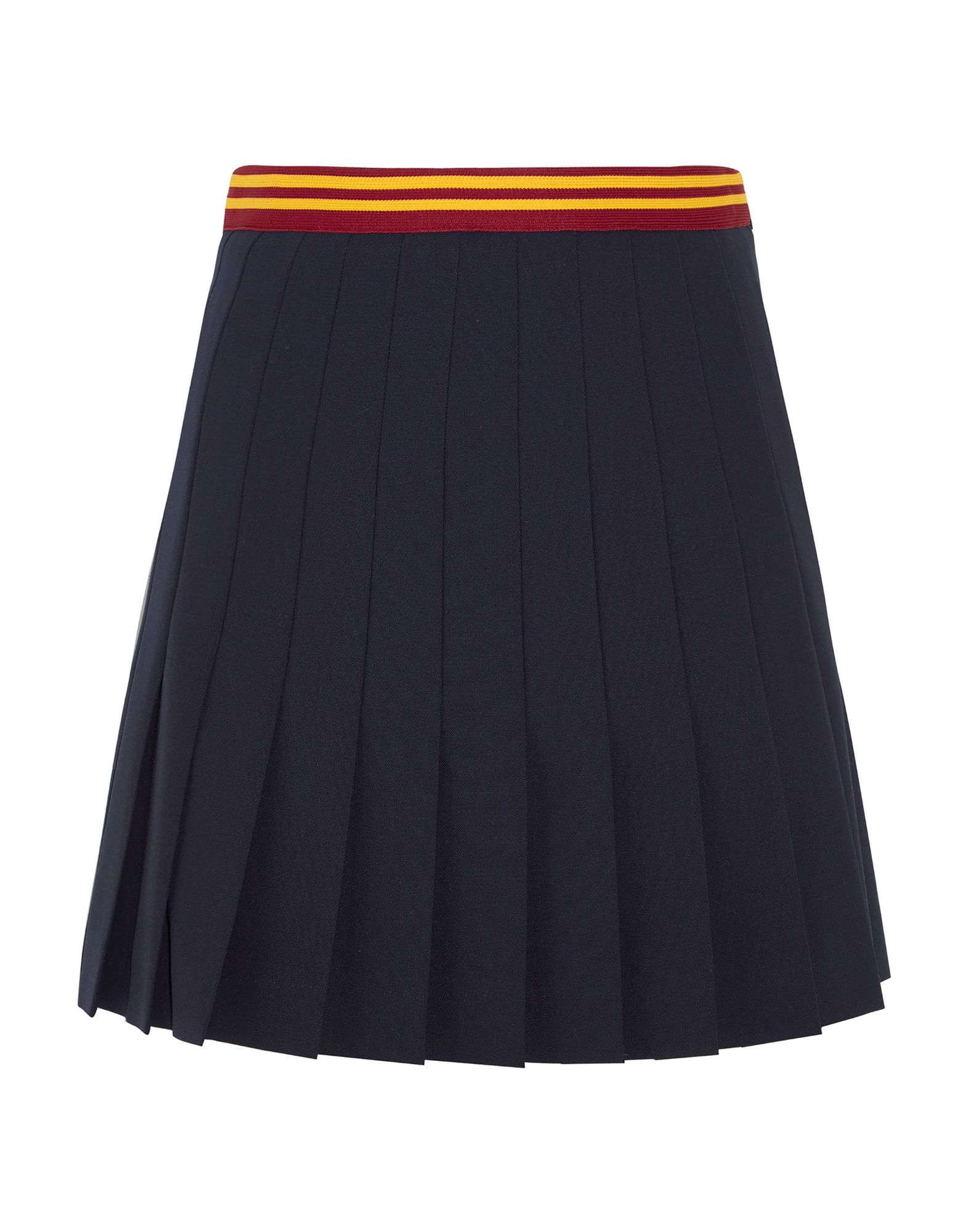 MIU MIU Мини-юбка miu miu черный шерстяной кардиган
