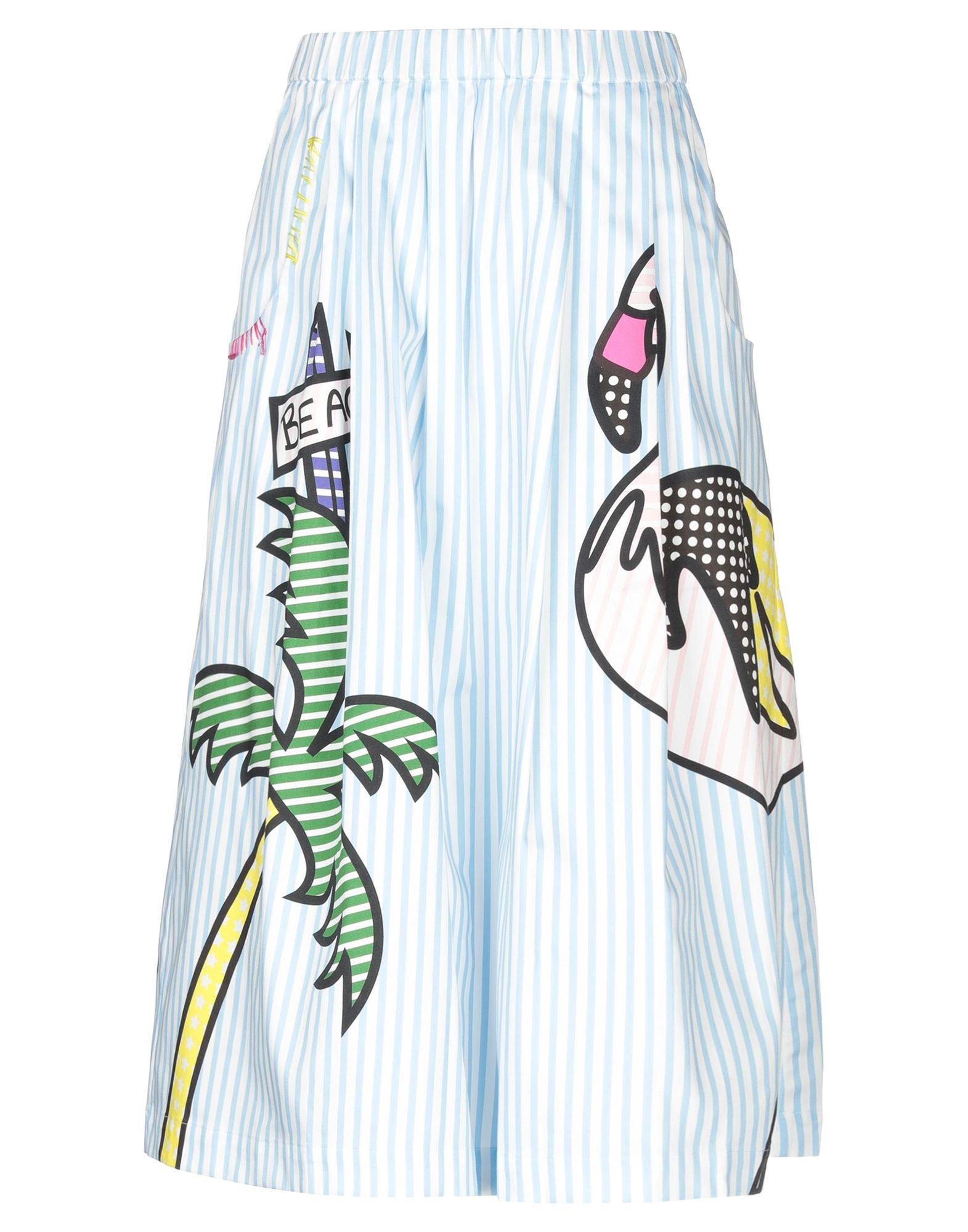 MIRA MIKATI Юбка длиной 3/4 mira mikati худи с вышивкой