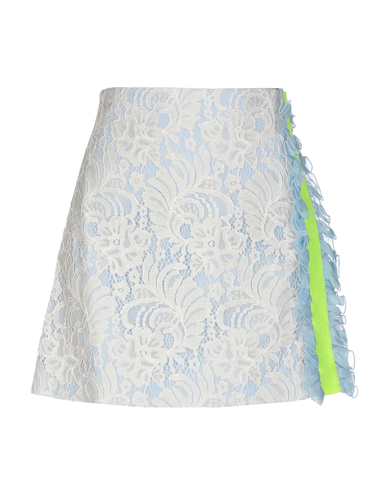 BROGNANO Мини-юбка agua мини юбка