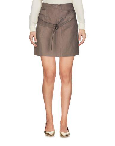 Фото 2 - Мини-юбка цвета хаки