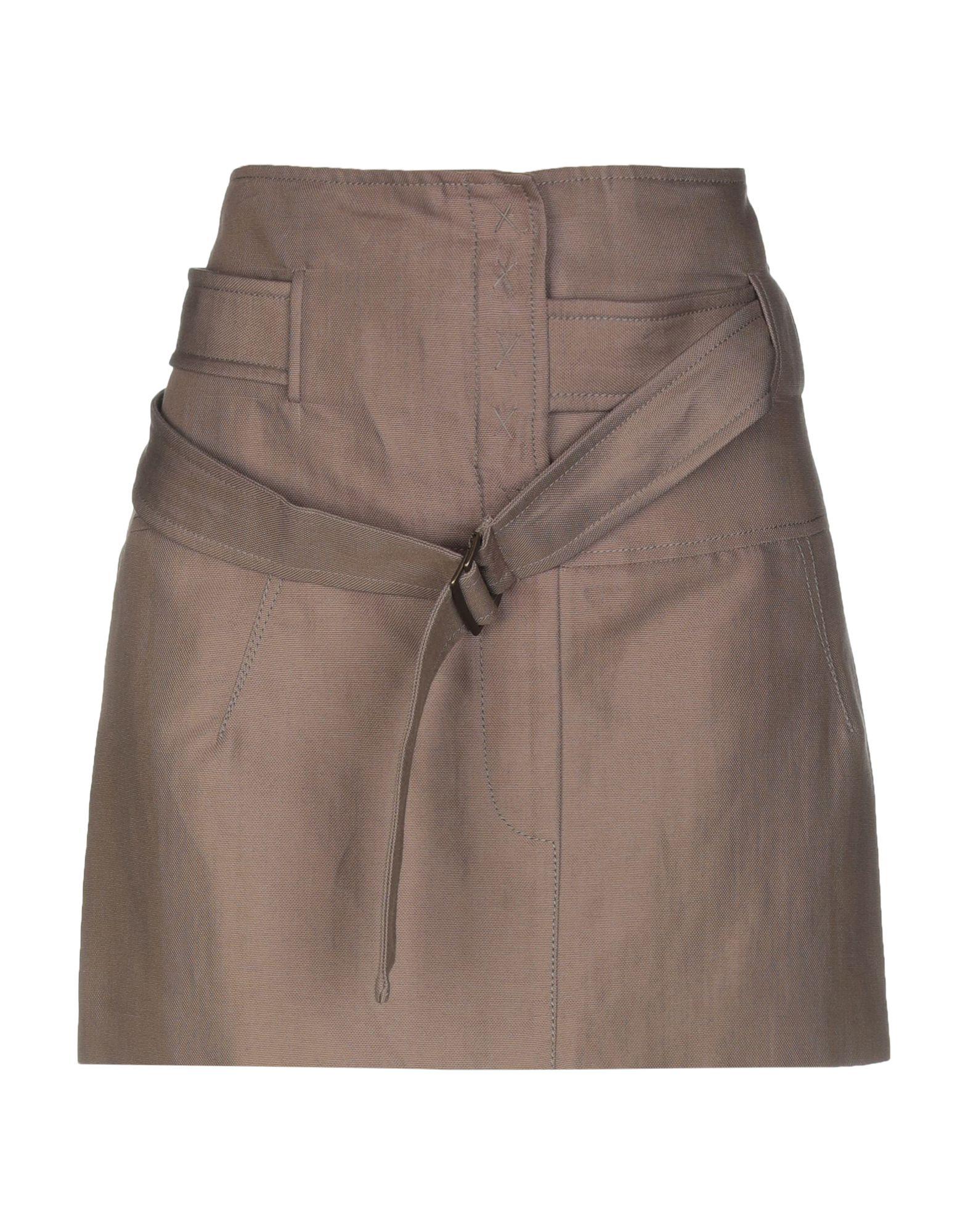 Фото - BRUNELLO CUCINELLI Мини-юбка brunello cucinelli мини юбка