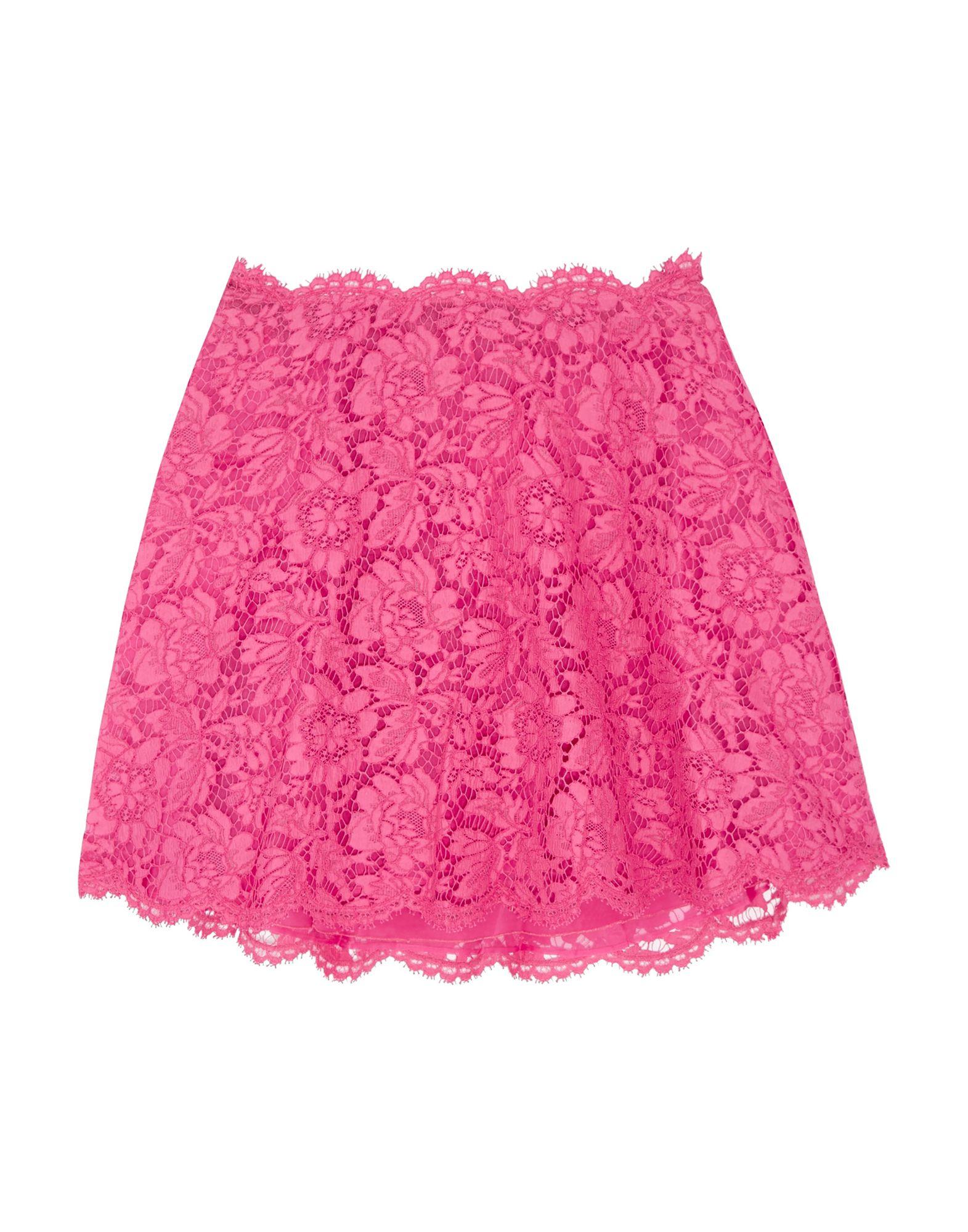 VALENTINO Мини-юбка valentino юбка с цветочной аппликацией