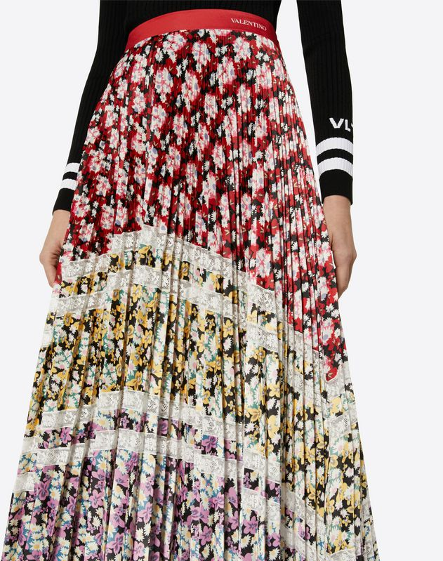 Spring Garden Jersey Skirt