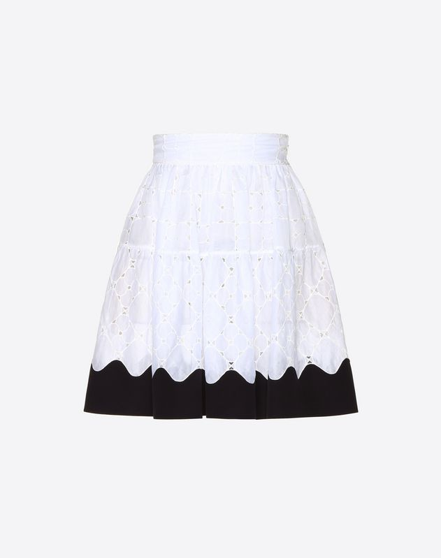 Damier Organdis Mini Skirt