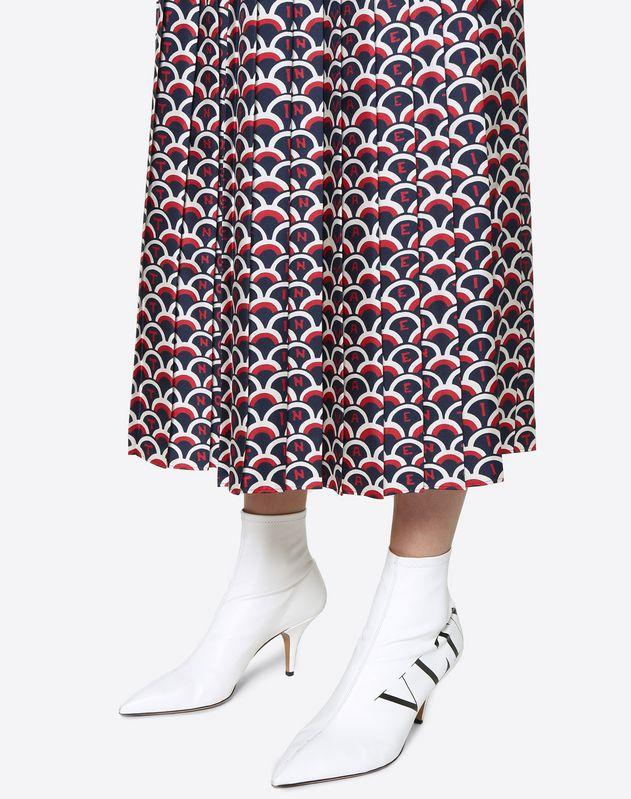 Falda de sarga Valentino Scale